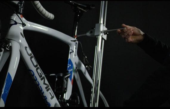 misurazione rapida e precisa di telaio e assetto della bicicletta