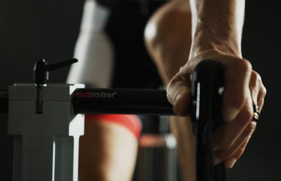 simulatore biomeccanico per la posizione ideale per ogni specialità nel ciclismo