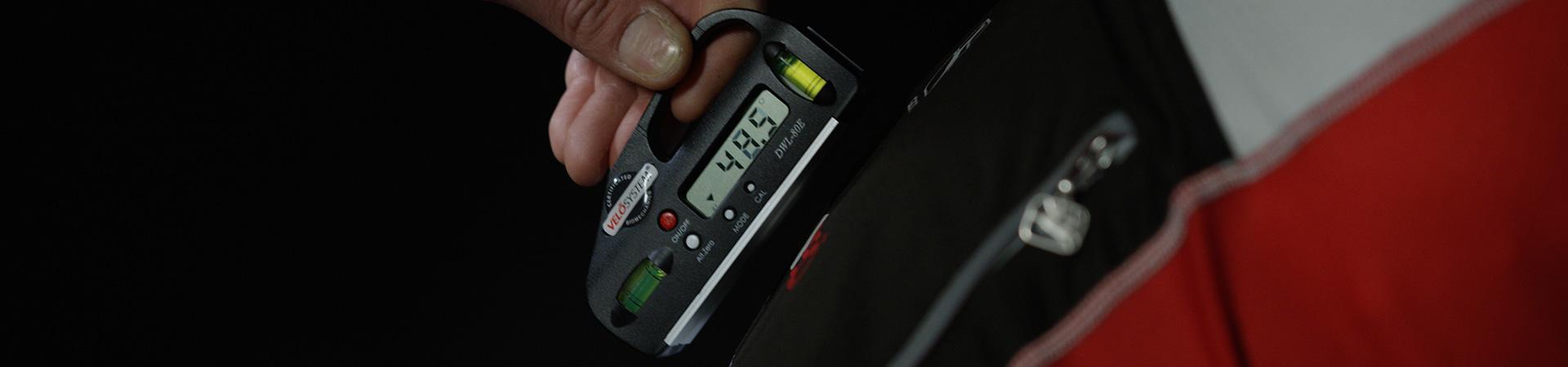 Ischio bolla - misurazione professionale biomeccanica