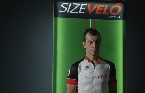 SizeVelò è l'innovativa postazione per la misura antropometrica del ciclista.